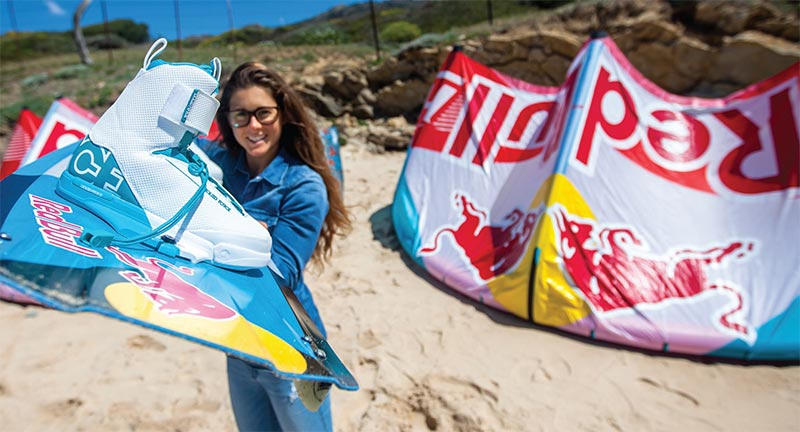 Gisela Pulido joins Liquid Force 2016 Kiteworld Magazine