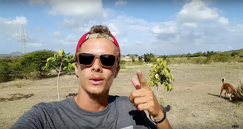 Jake Kelsick 5 line vs 4 line Kiteworld Magazine 2016