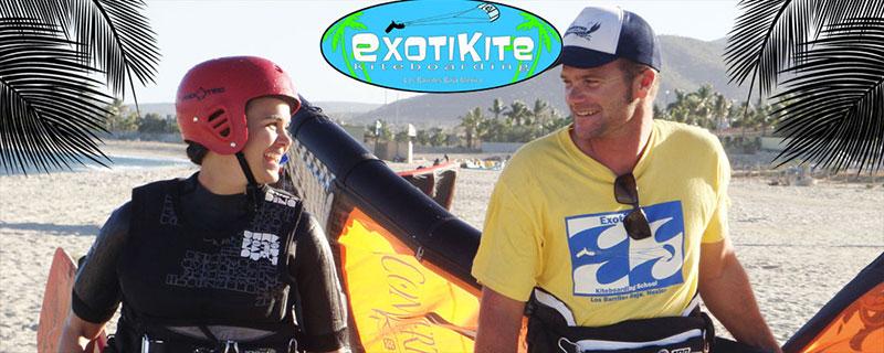 Los Barriles - Baja, Mexico Kiteboarding lessons Exotikite Kiteworld Magazine