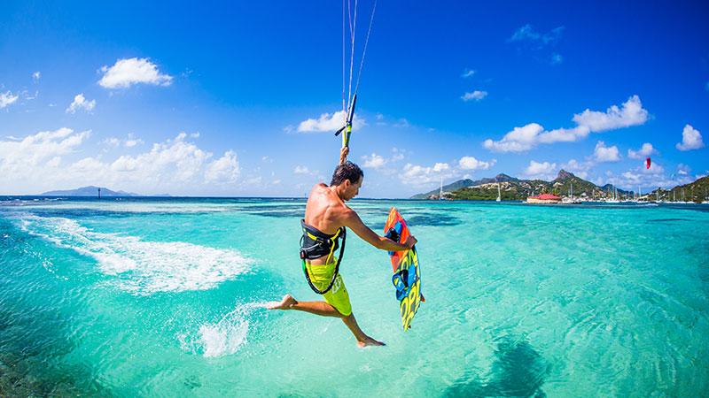 Jeremie Tronet - Union Island Grenadines Kiteworld Magazine Travel 2016