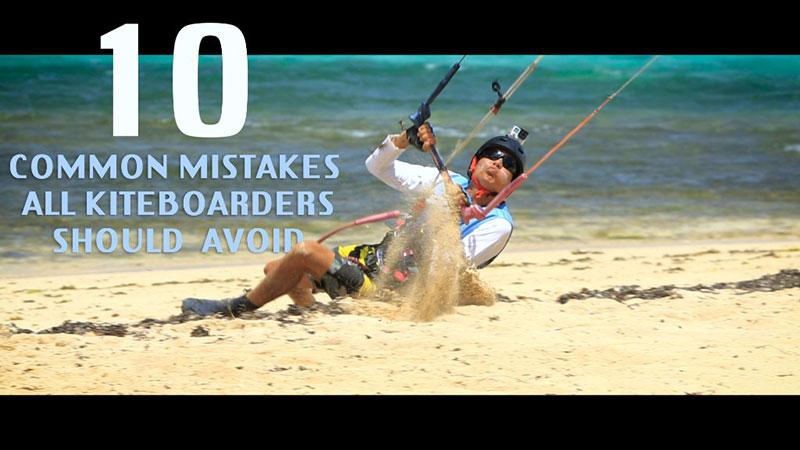 Jeremie Tronet - 10 Mistakes Kiteworld Magazine 2016