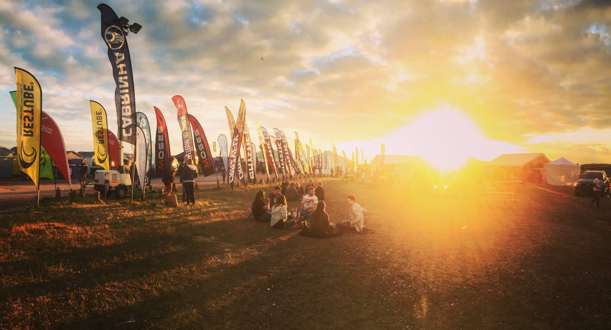 Kitesurfers from around the world gathered at the event site for the Virgin Kitesurfing Armada Festival