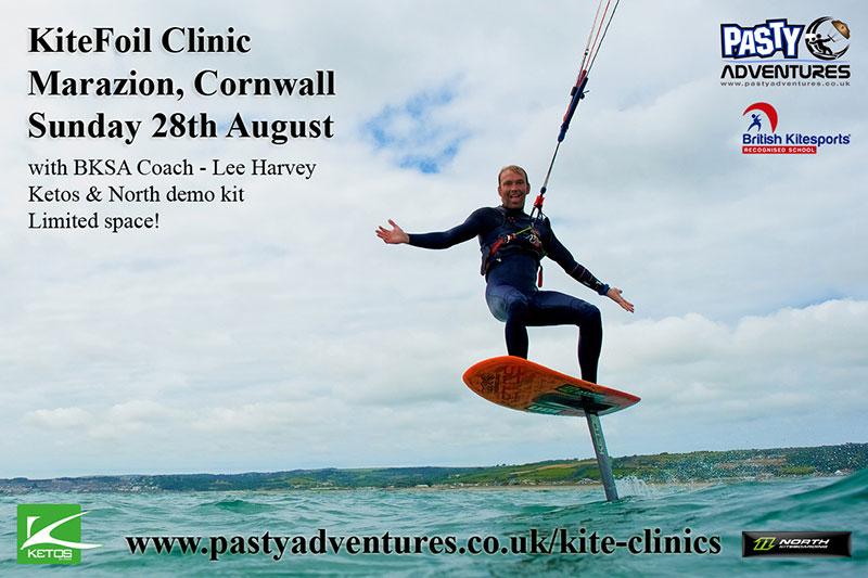 Pasty Kite Clinics - Lee Harvey Past Adventures Cornwall