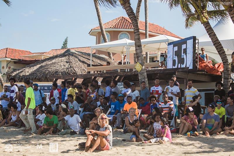 WKL scoreboard Cabarete MaiTai freestyle invitational