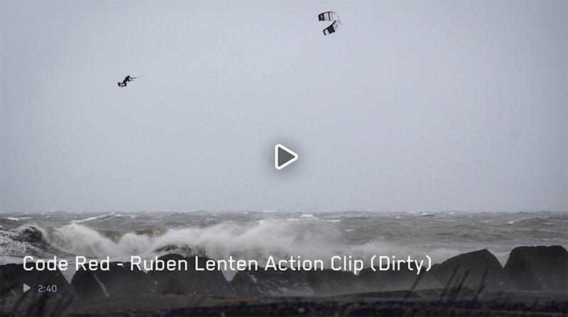 Ruben Lenten Code Red kitesurfing video