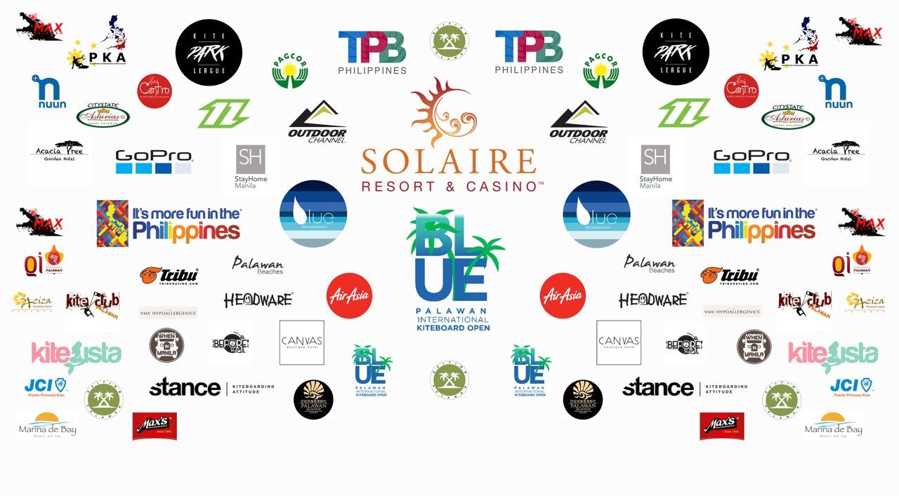 Blue Palawan Open - 2017 Sponsors