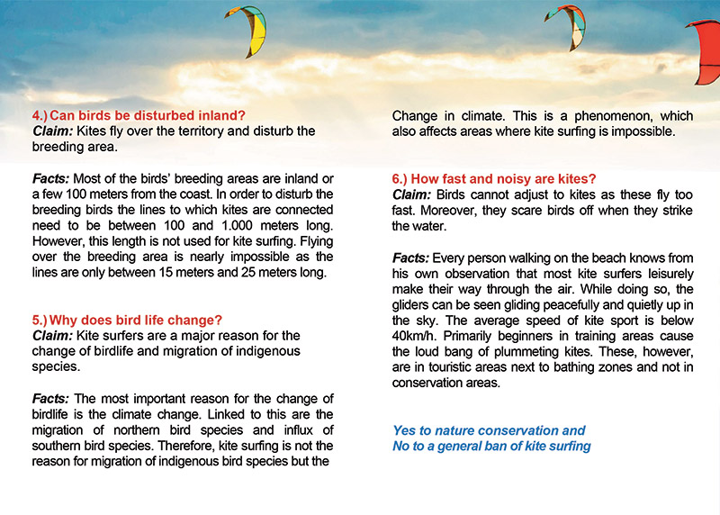 GKA - Kitesurfing and bird facts