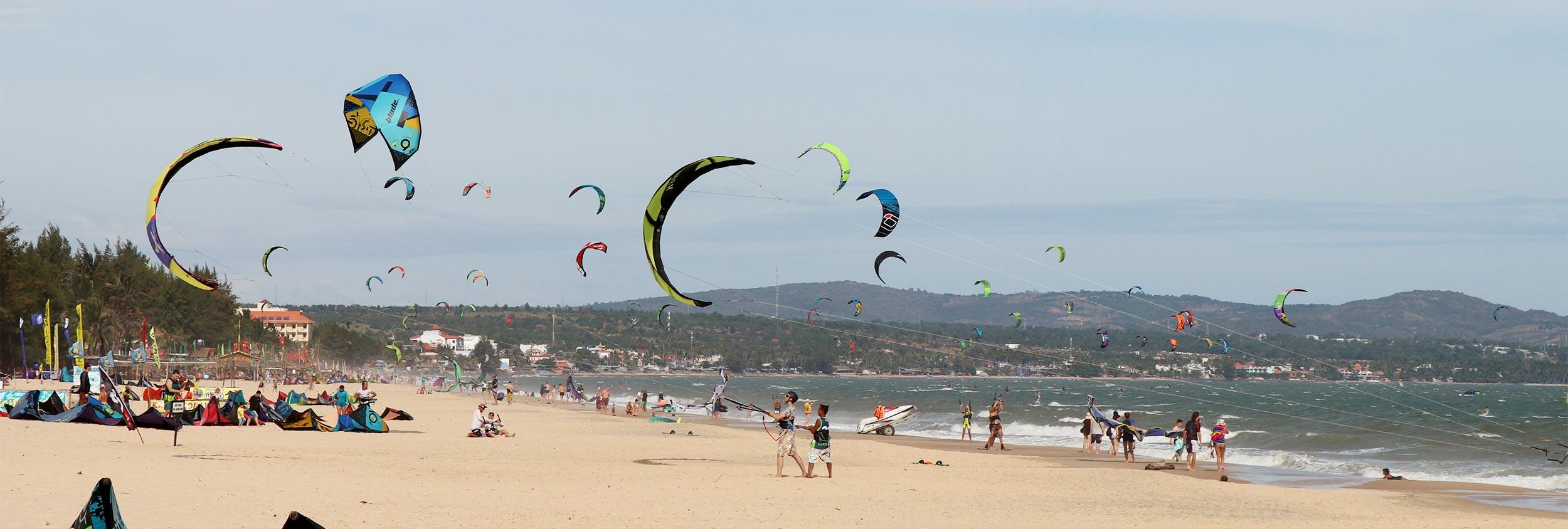 Mui Ne - Vietnam kitesurfing Kiteworld Magazine