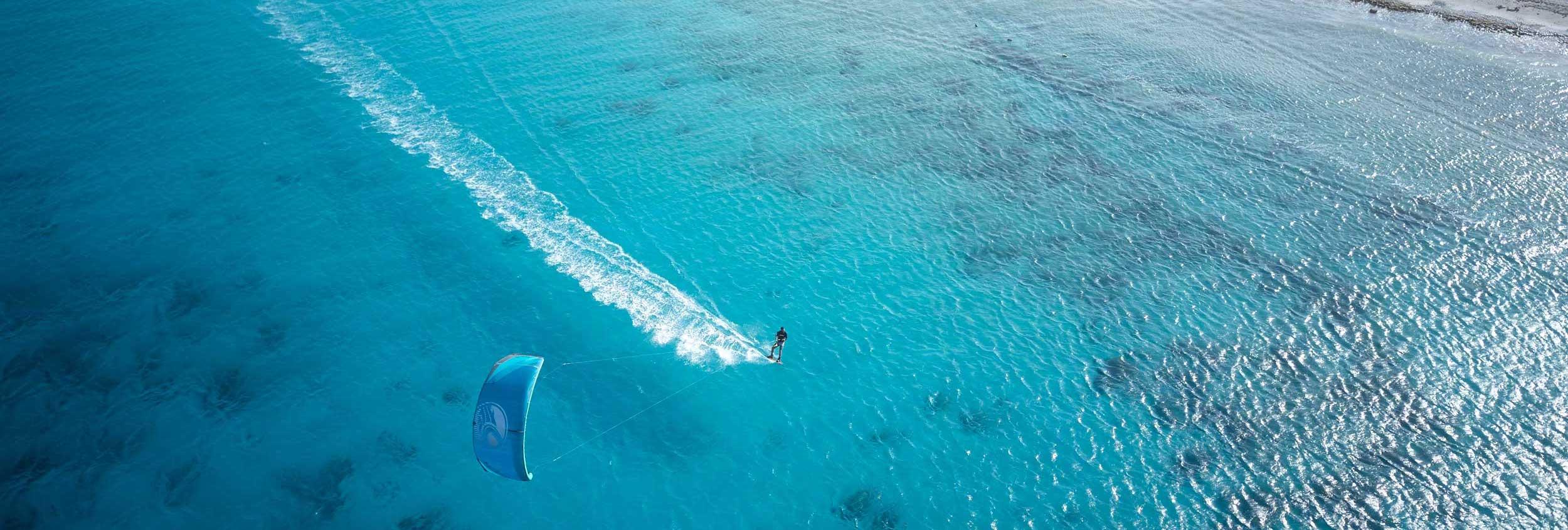 Kiteboarding Bonaire Atlantis Kitebeach