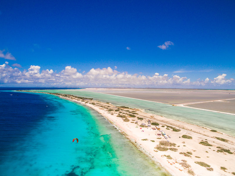 Kiteboarding in Bonaire