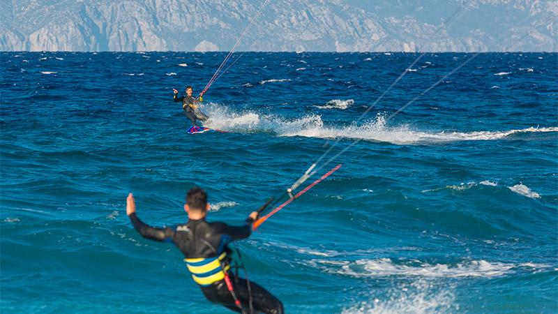 Kitesurfing Rhodes, Greece