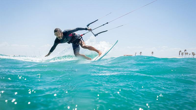 Kitesurfing Taiba Lagoon, Brazil