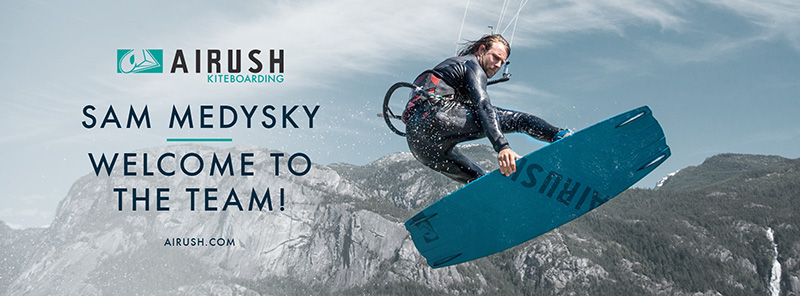 Sam Medysky joins Airush