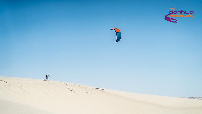 Dakhla - White sand dune