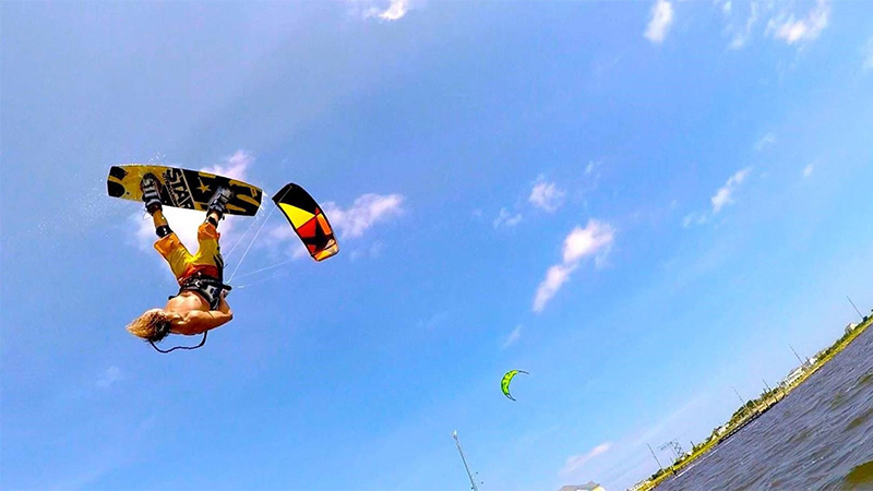 Ride with Rocky. Rocky Chatwell kite clinics