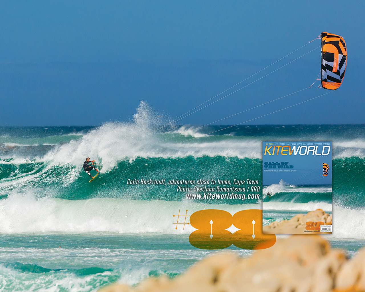 Colin Heckroodt, adventures close to home, Cape Town - Kiteworld issue 88 gallery