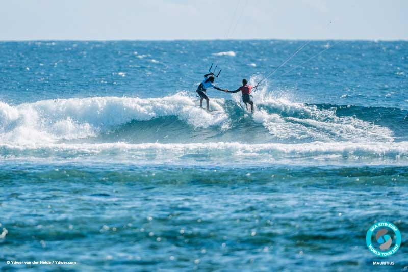 Positive-vibes all round GKA Kite-Surf
