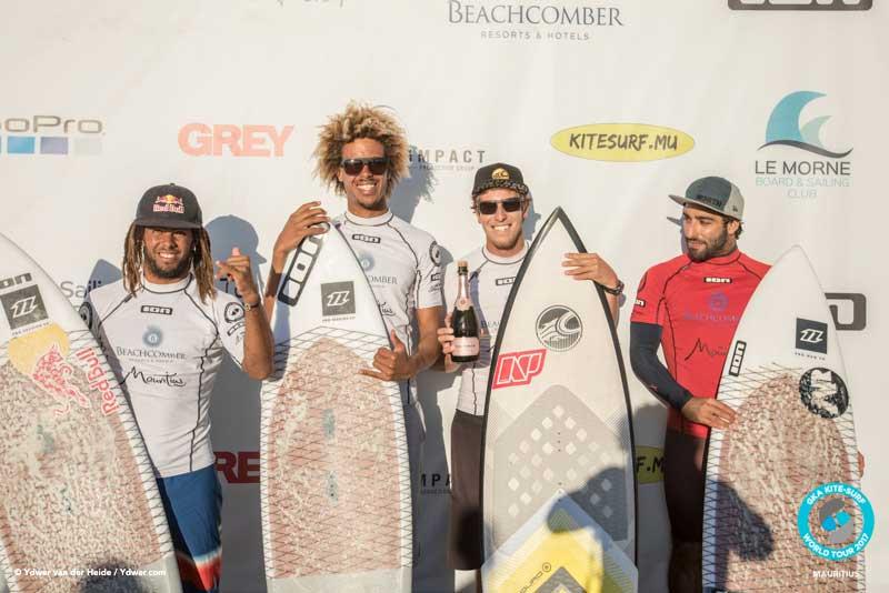 Event podium GKA Kite-Surf