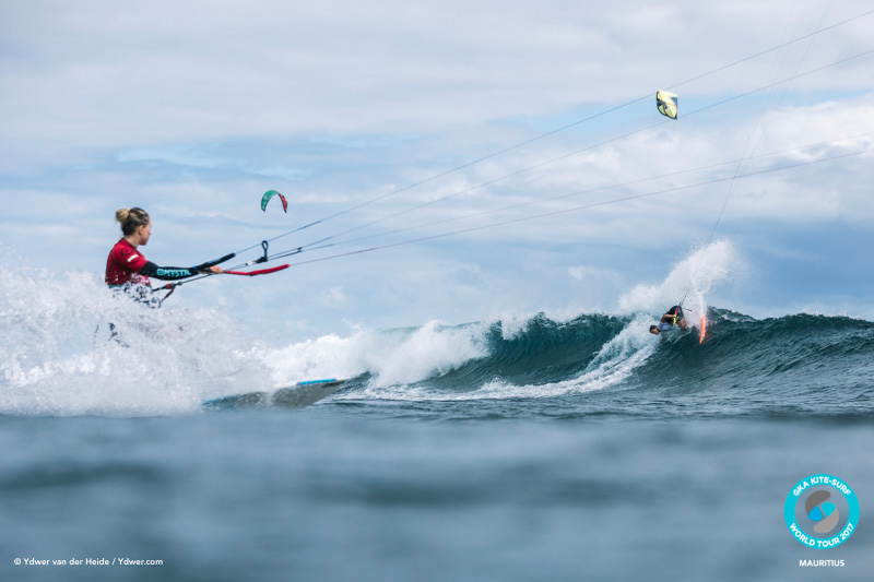 Jalou scopes out Milla GKA Kite-Surf