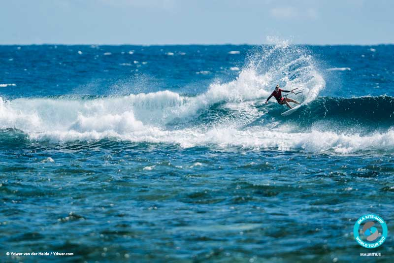 Jalou, the other half of the Langeree duo GKA Kite-Surf