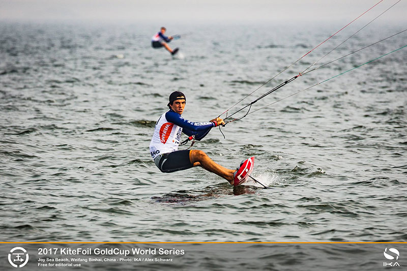 2017 KiteFoil GoldCup Day 1