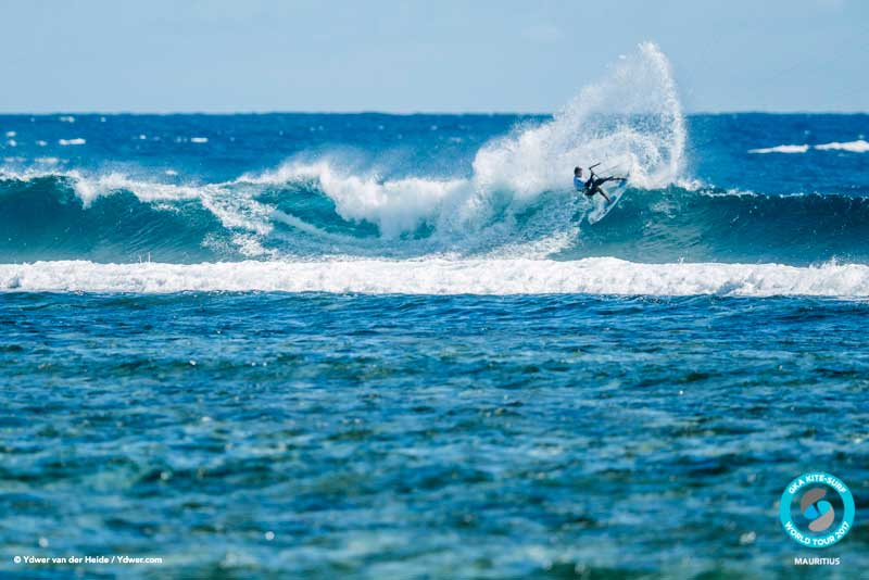 Kevin Langeree brought his competitive ability GKA Kite-Surf