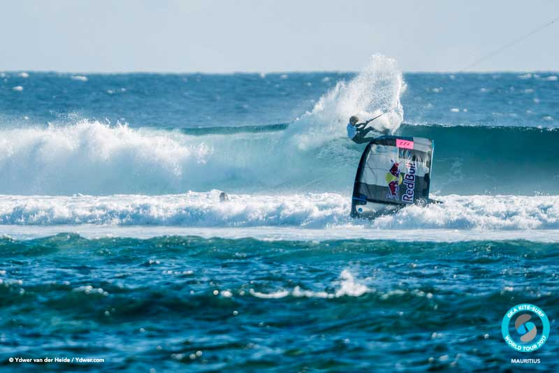 As Airton floundered Matchu steadily racked up the points GKA Kite-Surf