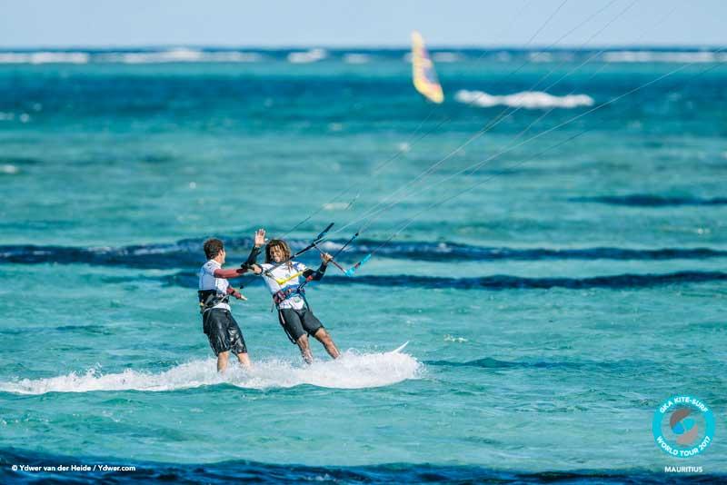 Airton congratulates Keahi GKA Kite-Surf