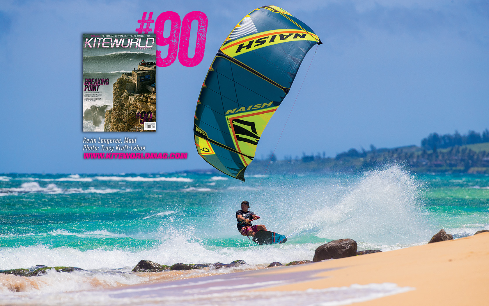 Kevin Langeree, Maui - Kiteworld issue 90 gallery