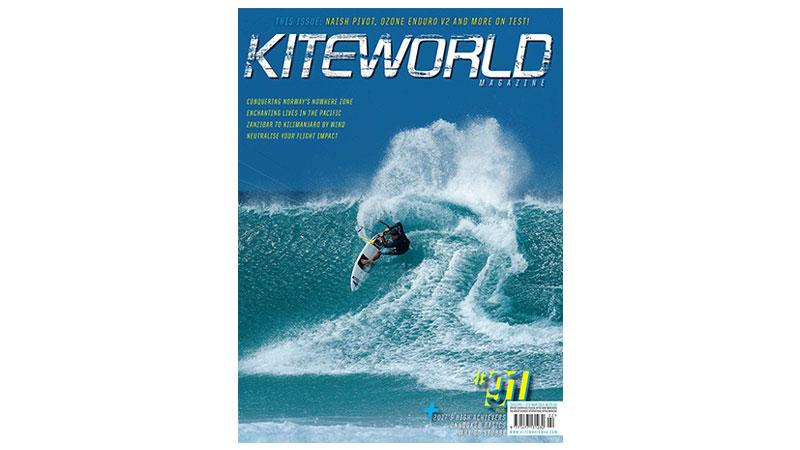 Kiteworld issue 91 cover