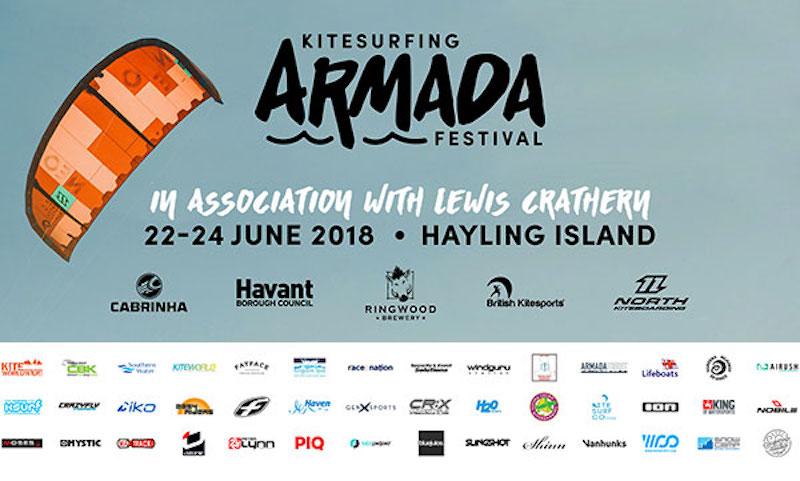 Kitesurfing Armada 2018 - Hayling Island