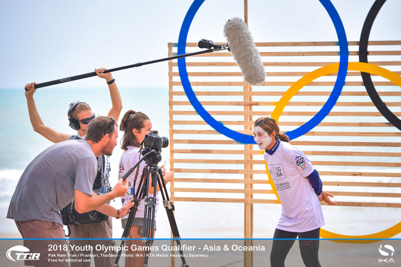Youth Olympic Qualifier - Asia - Jingle Chen