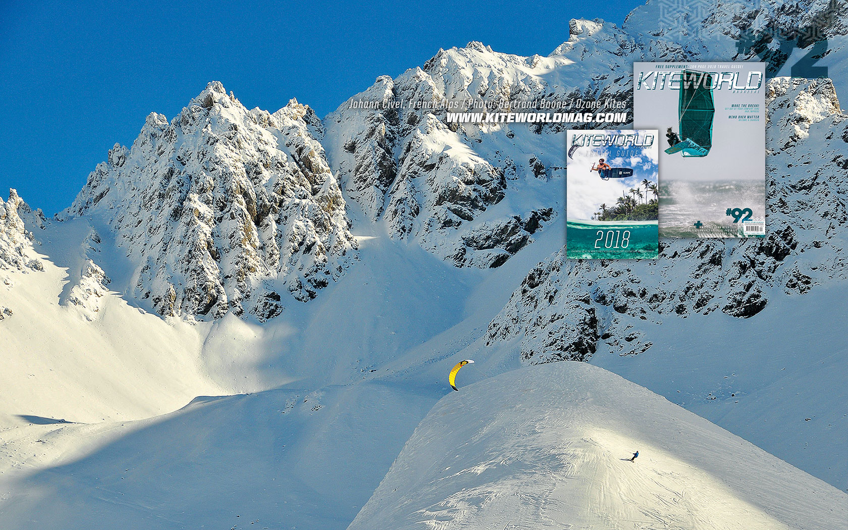 Johann Civel, French Alps - Kiteworld Magazine Gallery 92