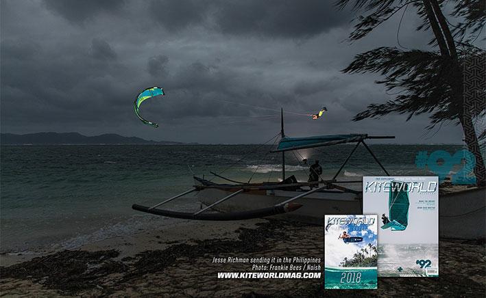 Jesse Richman sending it in the Philippines - Kiteworld Magazine Gallery 92