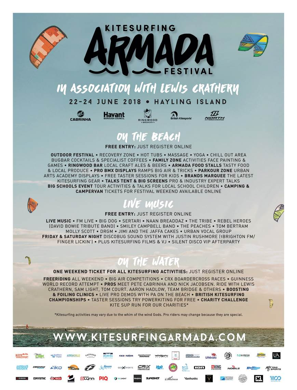 Kitesurfing Armada 2018
