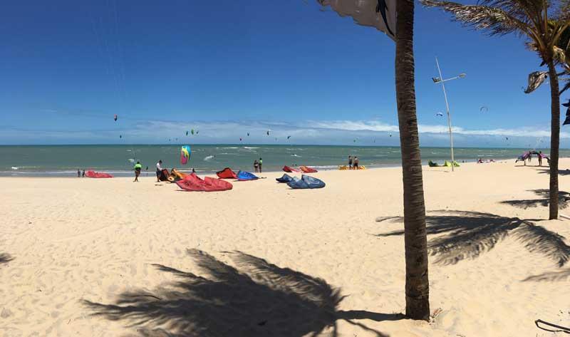 Duro Beach kite school zone