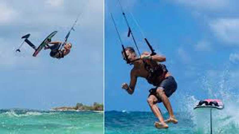 Jake Kelsick - Kitefoil freestyle