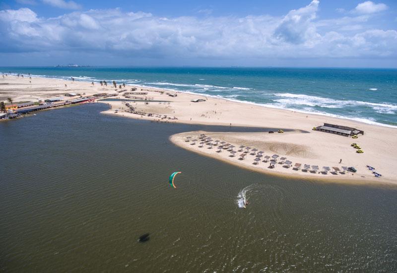 Kiteboarding Cumbuco