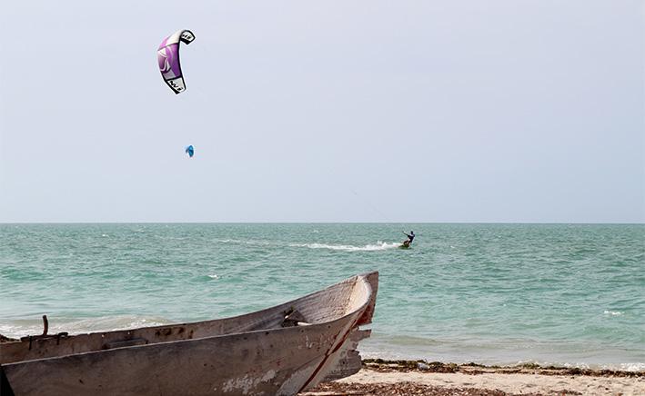 Kitesurfing Colombia