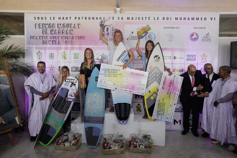 The Women's Podium - Gka Dakhla