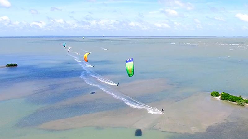 Sri Lanka Kalpitiya Mannar kitesurfing