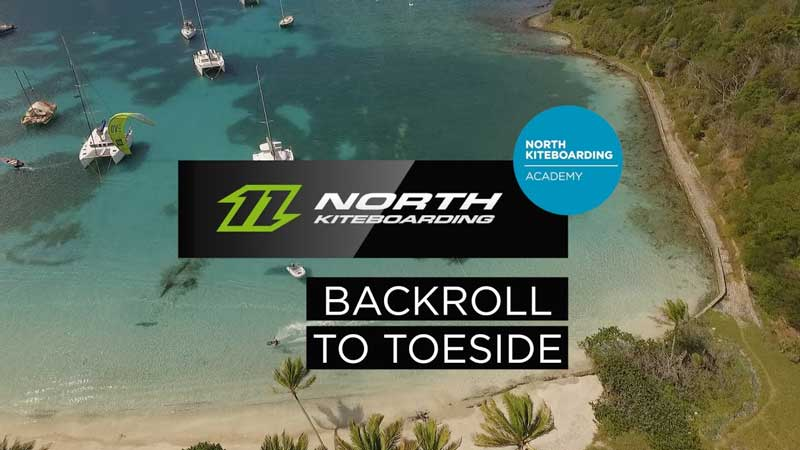 Backroll-to-toeside