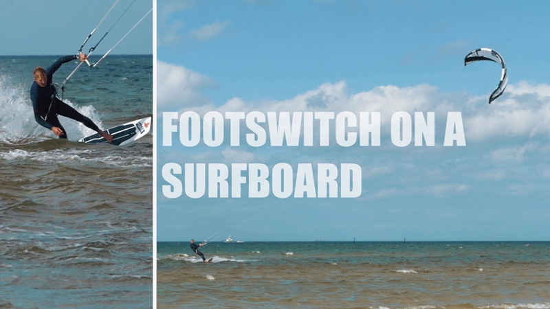 Ben Beholz - How to footswitch on a surfboard