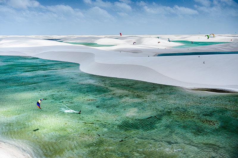 Kitesurfing Brazil, Atins. PHOTO: Red Bull content pool