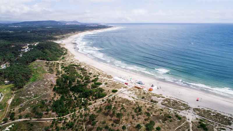 Cabadelo beach