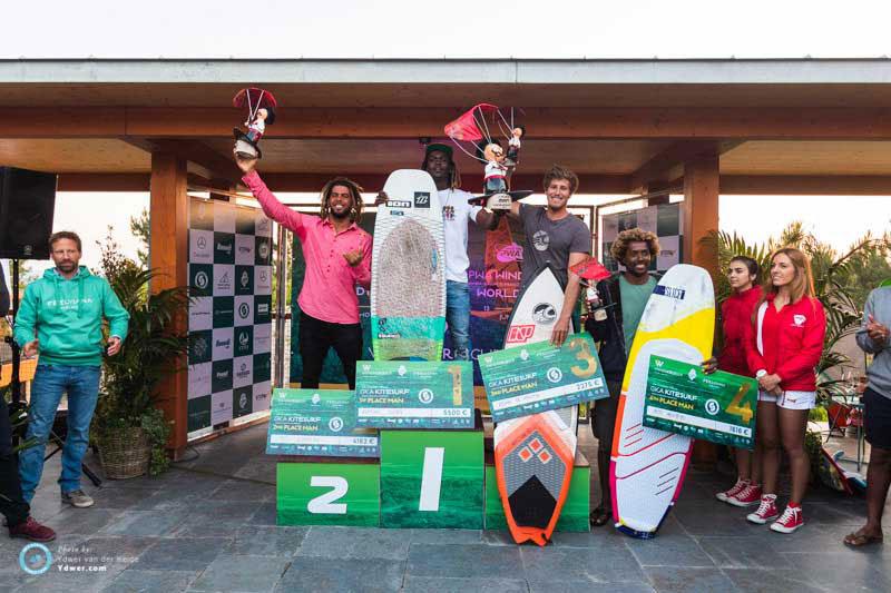 Men's podium - GKA Portugal