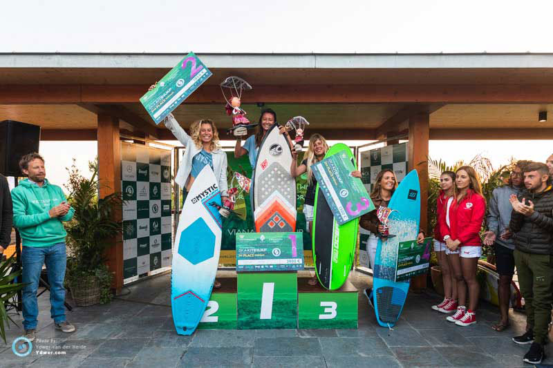 Women's podium - GKA Portugal