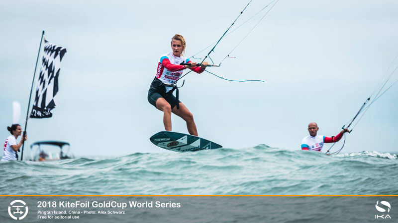 Elena Kalinina - Kite Foil World Series