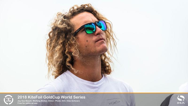 KiteFoil Gold Cup - Theo de Ramecourt