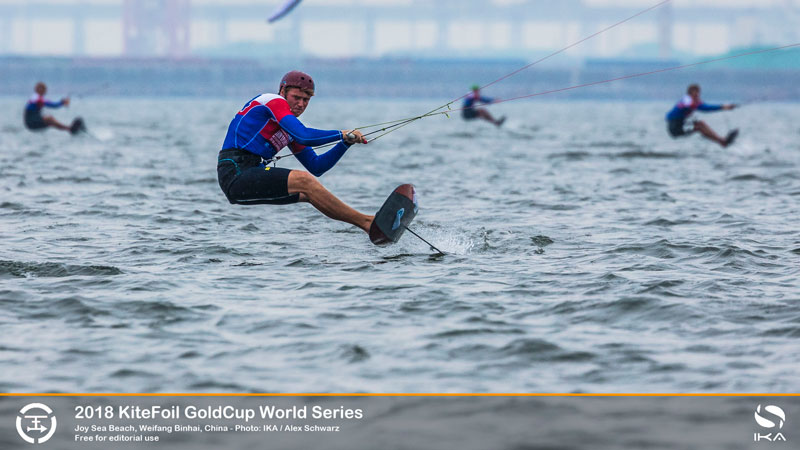 KiteFoil Gold Cup - Connor Bainbridge